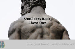 Shoulders Back, Chest Out