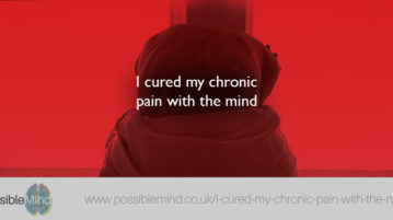I cured my chronic pain with the mind
