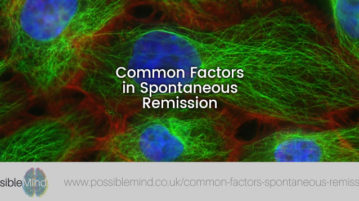 Common Factors in Spontaneous Remission