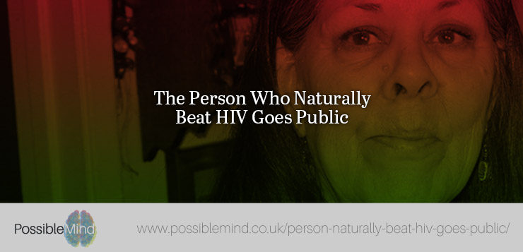 The Person Who Naturally Beat HIV Goes Public